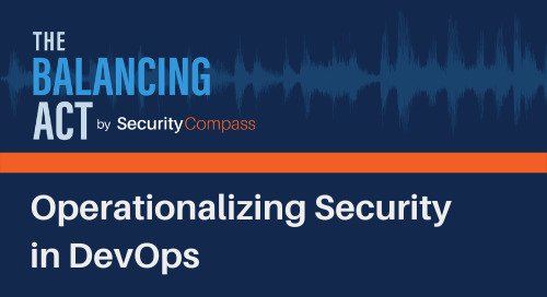 Operationalizing Security in DevOps