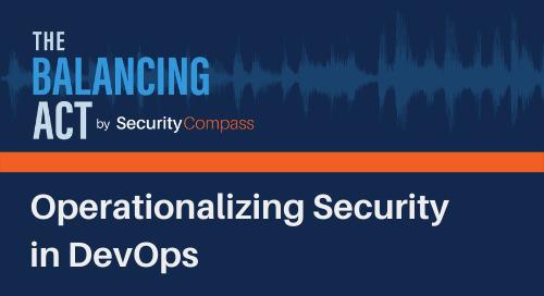 Operationalizing Security in DevOps