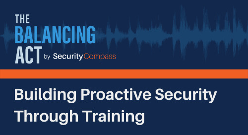 Building Proactive Security Through Training