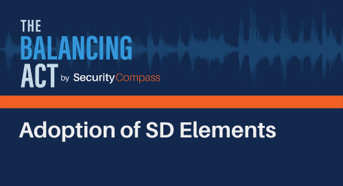 Adoption of SD Elements