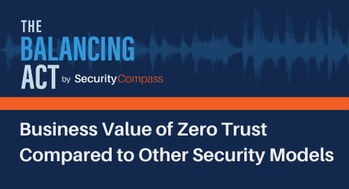 Business Value of Zero Trust Compared to Other Security Models