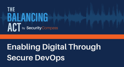 Enabling Digital Through Secure DevOps
