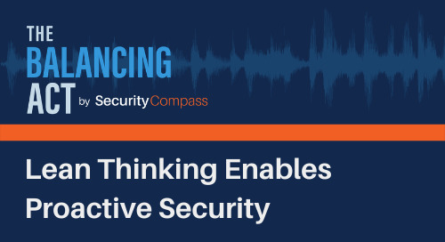 Lean Thinking Enables Proactive Security