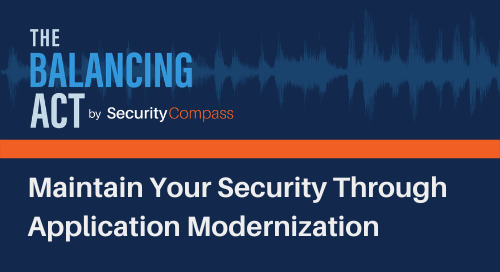 Maintain Your Security Through Application Modernization