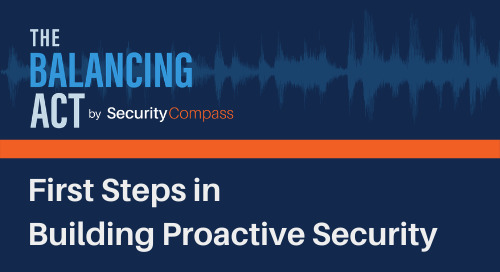 First Steps in Building Proactive Security