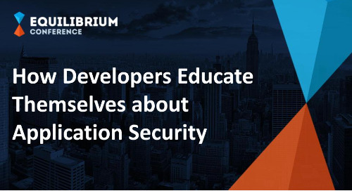 How Developers Educate Themselves about Application Security