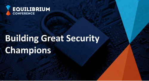 Building Great Security Champions