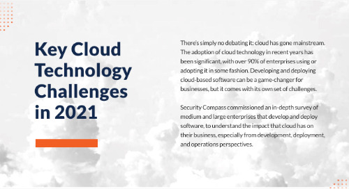 Key Cloud Technology Challenges in 2021