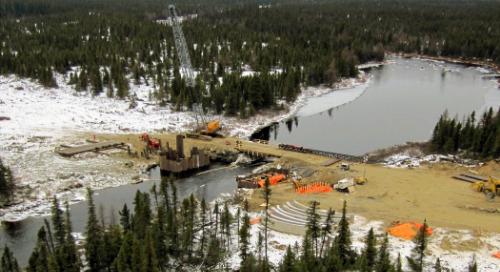 Project: Bloom Lake Iron Ore Mine Railway