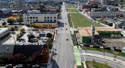Rochester, NY's leading edge urban freeway renovation project earns Envision Silver Award for Sustainable Infrastructure