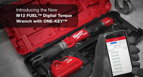 Now Here: Milwaukee® M12™ Digital Torque Wrench