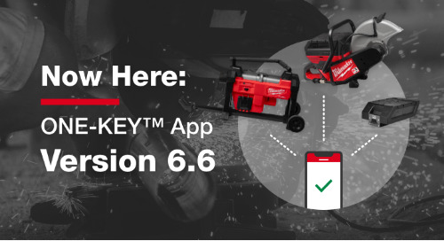 Now Here: 6.6 App Update. ONE-KEY™ Now Supports MX FUEL™ Light Equipment