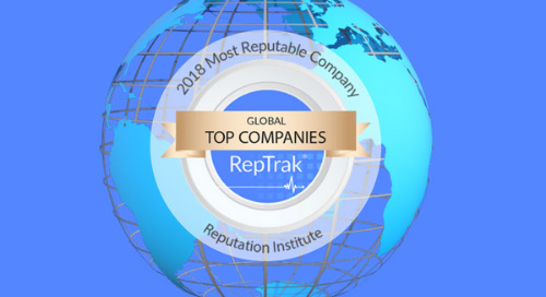 What it Takes to be a Top 10 Most Reputable Company