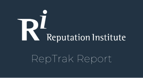 Summary of Global 2019 CR RepTrak Study