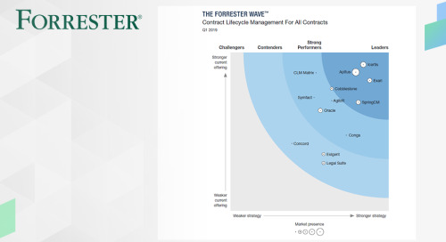 The Forrester Wave™: Contract Lifecycle Management (CLM), Q1 2019