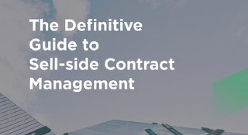 eBook | The Definitive Guide to Sell-side Contract Management