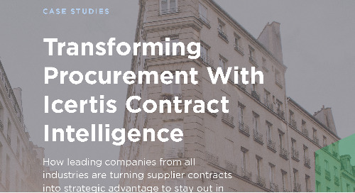 Transforming Procurement with Contract Intelligence - Icertis