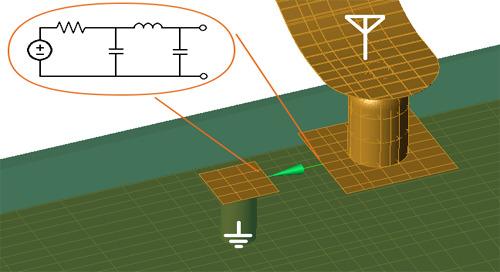 Time Domain EM Circuit Co-Simulation