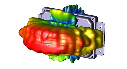 EM Simulation of Automotive Radar Mounted in Vehicle Bumper