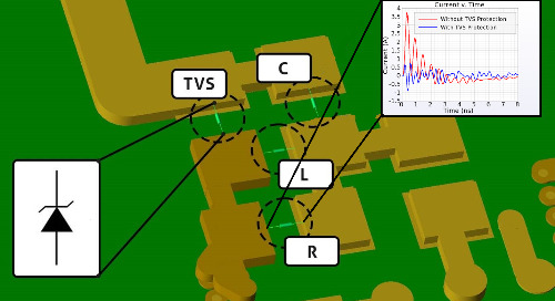 Upcoming Webinar! XFdtd's Transient EM/Circuit Co-Simulation for TVS Diode ESD Protection