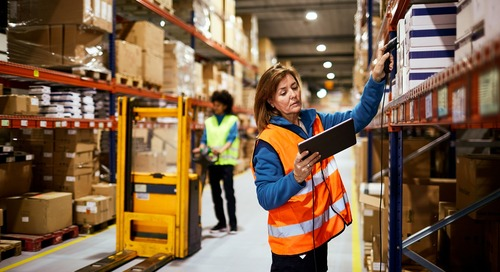 Distribution Center Benefits From Linerless, Pre-Printed Labels   Retail