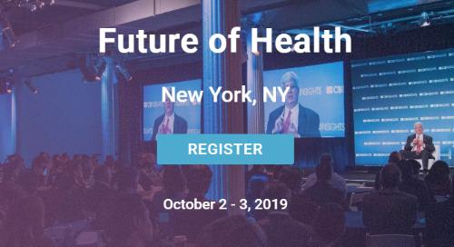 CB Insights Future of Health, Oct. 2-3, NYC