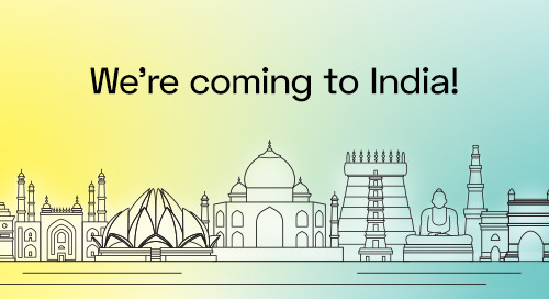 We're coming to India!