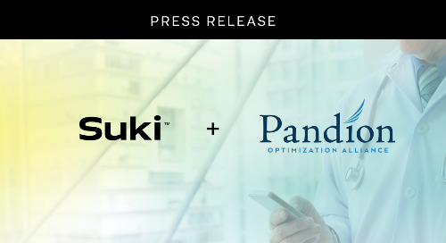 Pandion Optimization Alliance And Suki Announce New Partnership As Part Of Health Tech Expansion