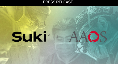 Suki Joins American Academy of Orthopaedic Surgeons' Member Advantage Program