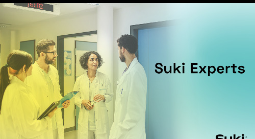 Suki Launches Suki Experts, A Panel of Physician Leaders To Inform Clinical AI Tools