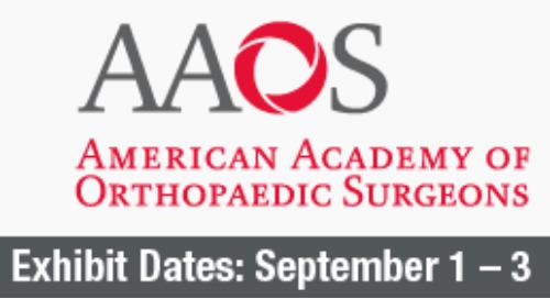 AAOS Annual Meeting 2021, September 1-3, San Diego