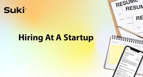 Hiring at a Startup