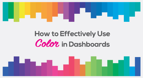 How to Effectively Use Color in Dashboards