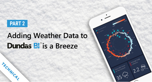 Adding Weather Data to Dundas BI is a Breeze - Part 2