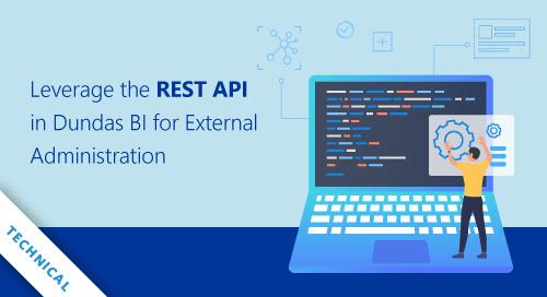 Leverage the REST API in Dundas BI for External Administration