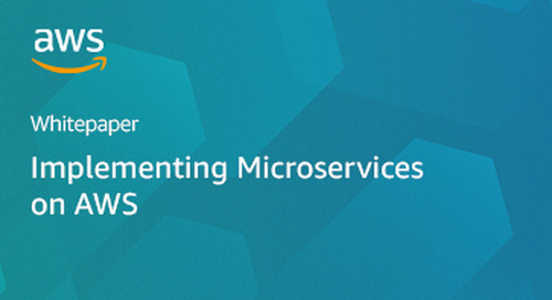 Whitepaper: Implementing Microservices on AWS