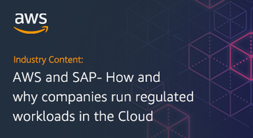AWS and SAP- How and Why Companies Run Regulated Workloads in the Cloud