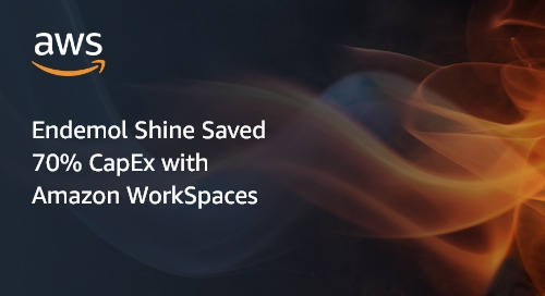 Endemol Shine Saved 70% CapEx with Amazon WorkSpaces