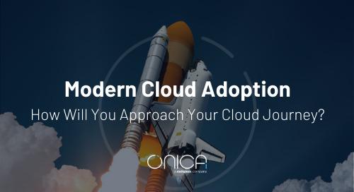 Onica: Modern Cloud Adoption - Reimagine Your Cloud Journey