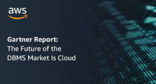 Gartner Report: The Future of the DBMS Market Is Cloud