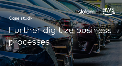 Slalom Customer Story: Further Digitize Business Processes with Machine Learning