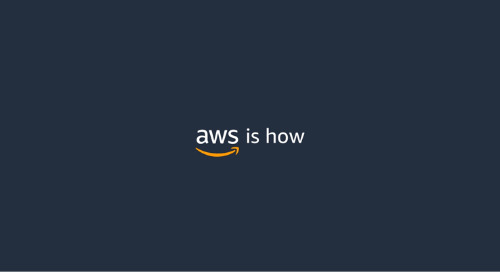 AWS is How Online Event Series