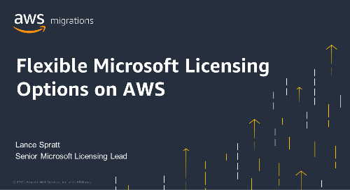 Flexible Microsoft Licensing Options on AWS