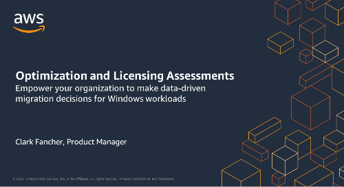 AWS Optimization and Licensing Assessments