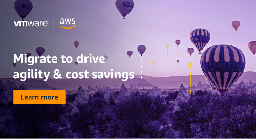 Drive agility and business continuity with VMware Cloud™ on AWS