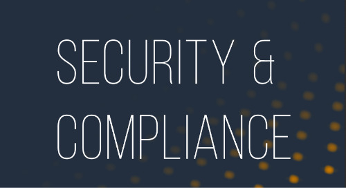Security & Compliance Quick Reference Guide