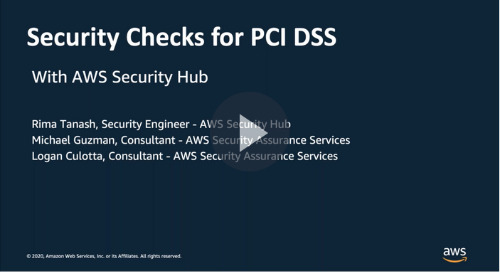 Automated Security Checks for PCI DSS with AWS Security Hub