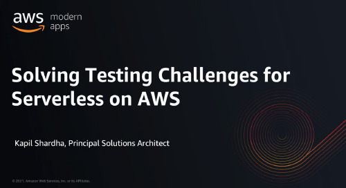 Solving Testing Challenges for Serverless on AWS