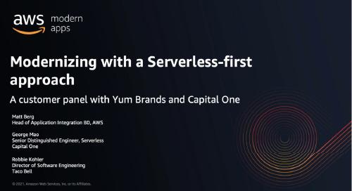 Modernizing with a Serverless First Approach