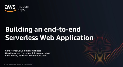 Building an end-to-end Serverless Web Application